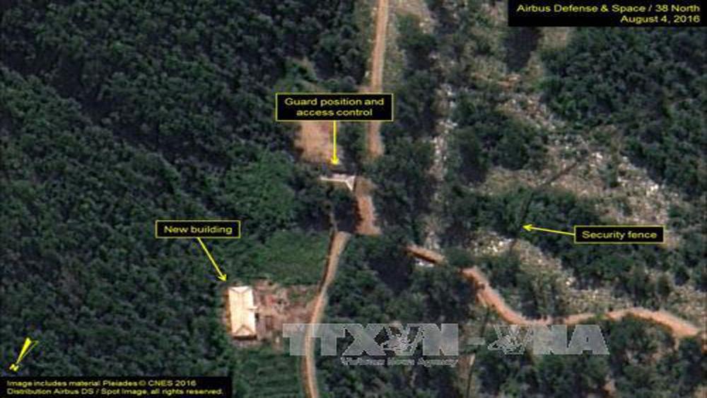 Triều Tiên bắt đầu đóng cửa bãi thử hạt nhân Punggye-ri